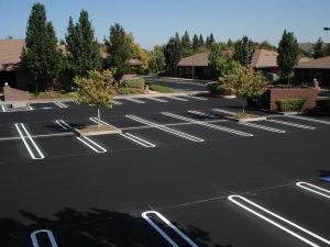 Parking Lot Installation in North Carolina